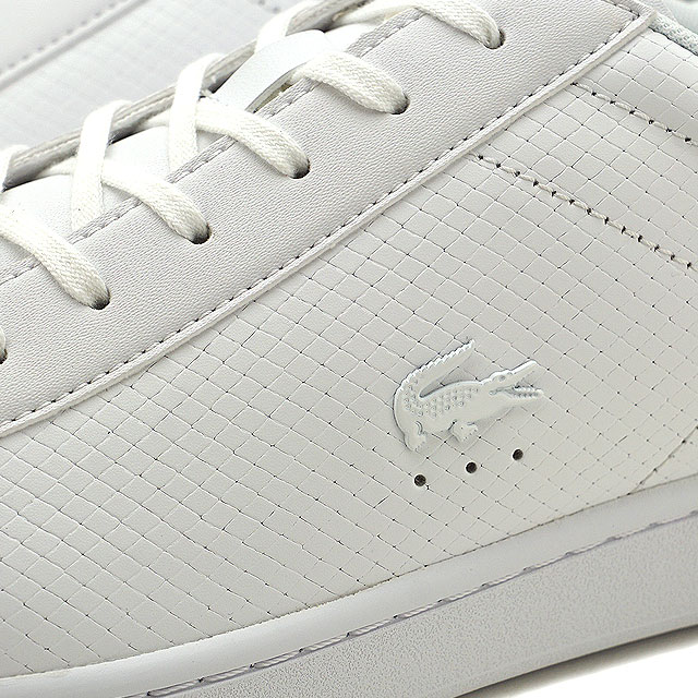 e009eec3fdd5 LACOSTE Lacoste CARNABY EVO 318 7 カーナビーエヴォスニーカー shoes men white (SM0012L  FW18)