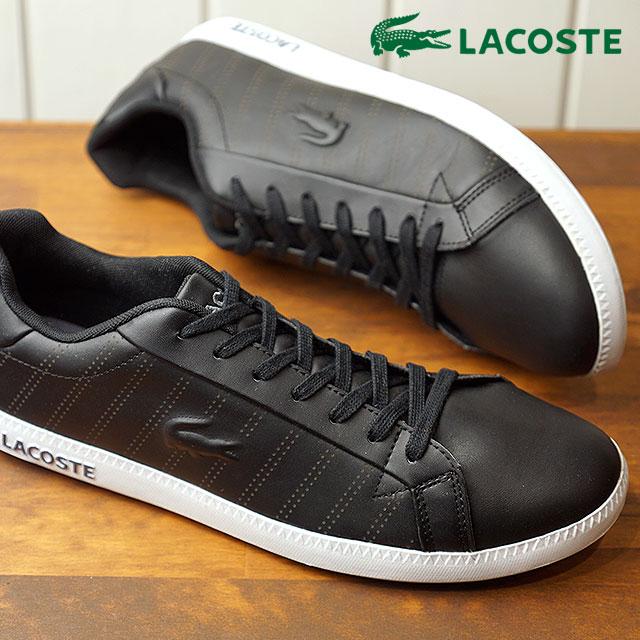 af83319c3dd2 LACOSTE Lacoste GRADUATE 318 1 グラデュエイトスニーカー shoes men black (SPM0021 FW18)