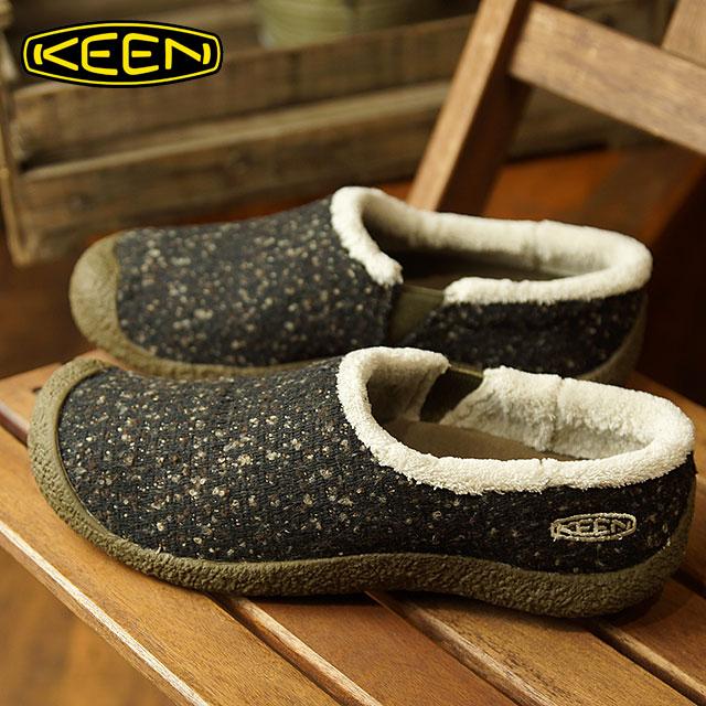 0e67580da102 Kean KEEN Lady s Hauser slide wool WOMEN HOWSER SLIDE WOOL relaxation  comfort clog mock shoes Canteen Pelican (1019487 FW18)