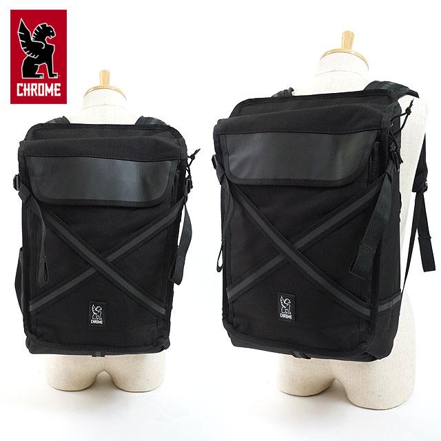 クローム CHROME 17L バックパック ECHO BRAVO リュックサック デイパック メンズ・レディース ALL BLACK (BG248ALLB FW18)【e】【ts】