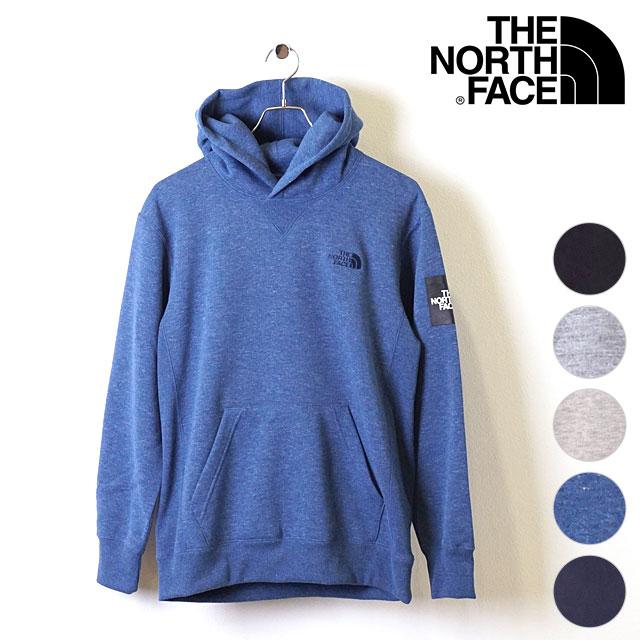 【即納】ザ・ノースフェイス THE NORTHFACE メンズ スクエアロゴフーディー Square Logo Hoodie 裏起毛 スウェットプルオーバーパーカー (NT61835 FW18)【コンビニ受取対応商品】