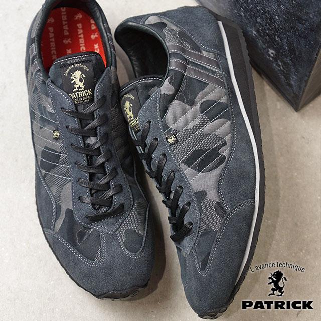 【即納】【返品送料無料】パトリック PATRICK カモスタ CAMOSTA スタジアム メンズ レディース スニーカー 靴 グレー GRY (530614 FW18)【コンビニ受取対応商品】
