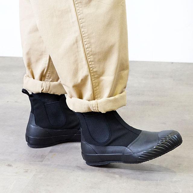 【即納】ムーンスター ファインバルカナイズド Moonstar FINE VULCANIZED オールウェザー サイドゴア ALW SIDEGOA メンズ レディース 日本製 スニーカー 靴 BLACK (54321186 FW18)【コンビニ受取対応商品】
