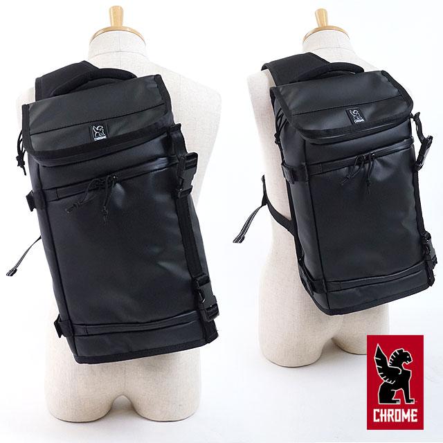 【即納】CHROME クローム バッグ NIKO MESSENGER TARP ニコ メッセンジャーバッグ Black/Black (BG186BKBK)【コンビニ受取対応商品】