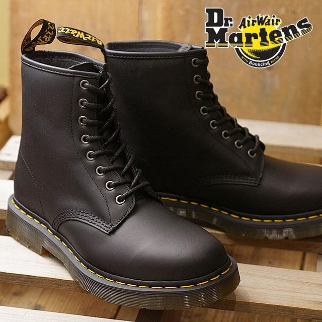 07dcbdb808fc Dr.Martens doctor Martin 8 hall boots 1460 SNOWPLOW Snow plow men black  shoes (24039001 FW18)