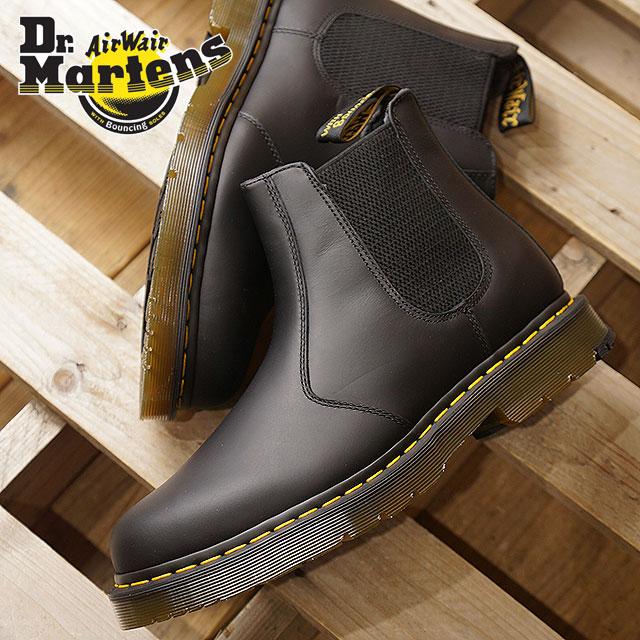 Dr.Martens ドクターマーチン サイドゴアブーツ 2976 SNOWPLOW スノープラウ メンズ ブラック 靴 (24040001 FW18)【コンビニ受取対応商品】