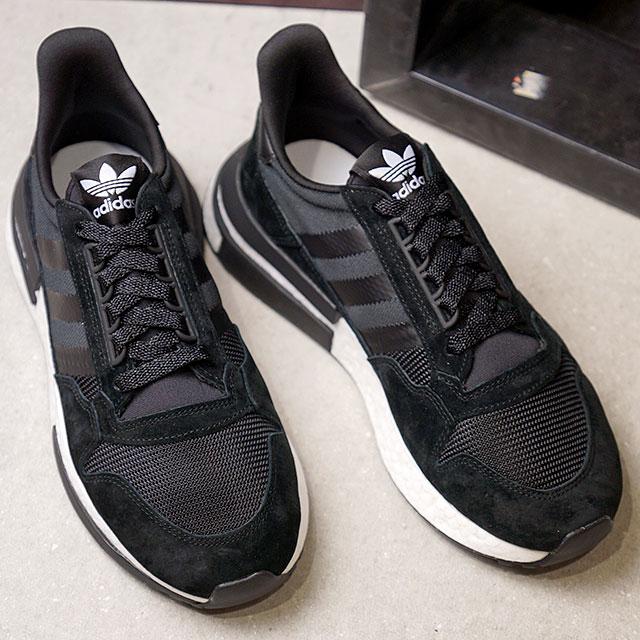 【即納】adidas Originals アディダス オリジナルス ZX 500 RM ゼットエックス500 RM メンズ スニーカー 靴 Cブラック/Rホワイト/Cブラック (B42227 FW18)【コンビニ受取対応商品】