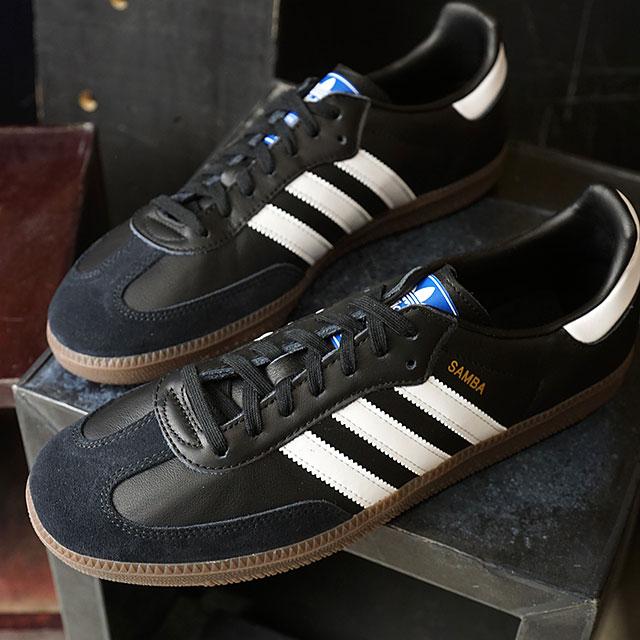 0c15f21dd8e6 adidas Originals Adidas originals SAMBA OG samba OG men sneakers shoes C  black /R white / gum 5 (B75807 FW18)