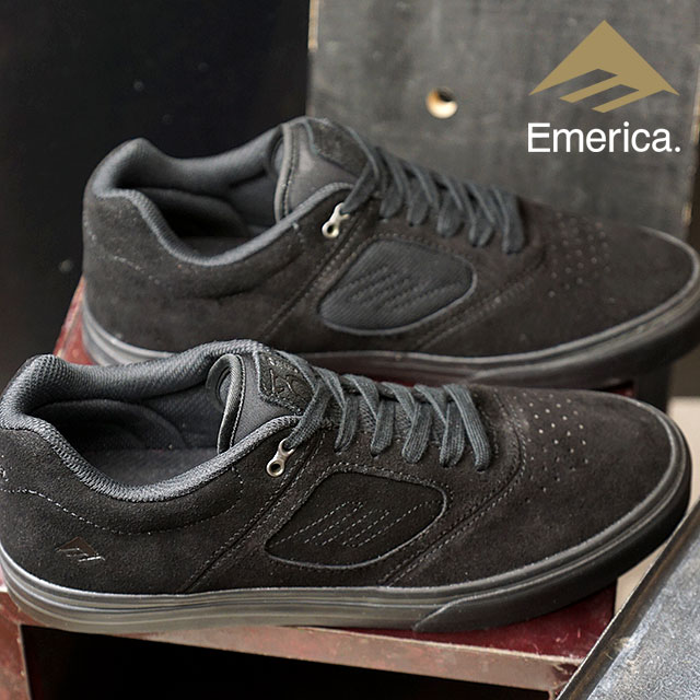 Emerica Eymet Rika REYNOLDS 3 G6 VULC Reynolds 3 G6 Val refuse knee car  shoes スケートシューズスケシューメンズ Lady s BLACK BLACK (FW18) f97de51f6