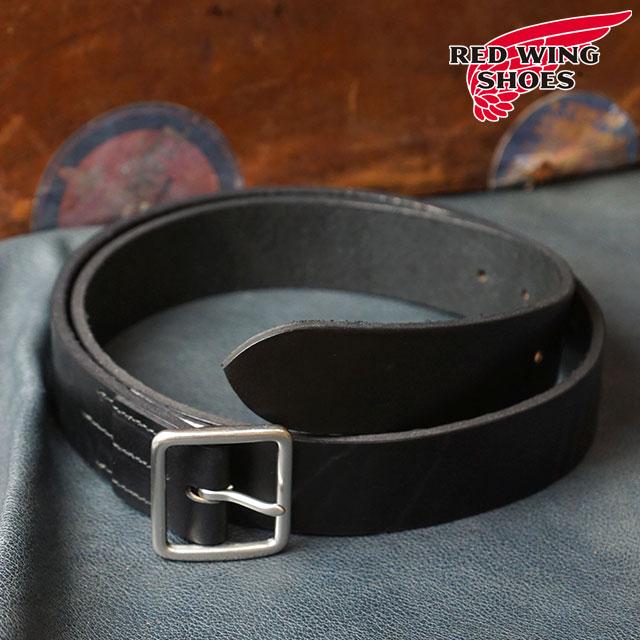 【即納】REDWING レッドウィング #96564 レザーベルト 40mm幅 Leather Belt メンズ Black (96564 FW18)【コンビニ受取対応商品】