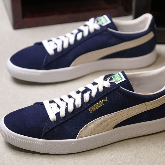 new style 9d532 e1d5a Puma PUMA suede 365942 SUEDE 90681 men's sneakers shoes PEACOAT (365,942-10  FW18)