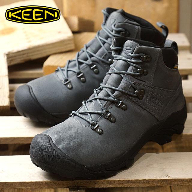 キーン KEEN メンズ ピレニーズ MEN PYRENEES ハイキング トレッキングシューズ ブーツ 靴 Steel Gray/Black (1019464 FW18)