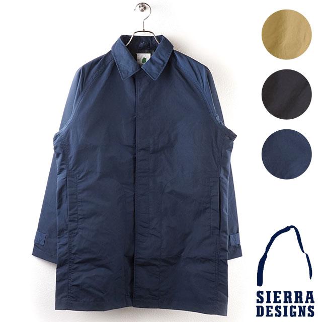 【月間優良ショップ】シェラデザインズ SIERRA DESIGNS メンズ ステンカラーコート TACOMA COAT II タコマ コート2 (8101 FW18)【コンビニ受取対応商品】
