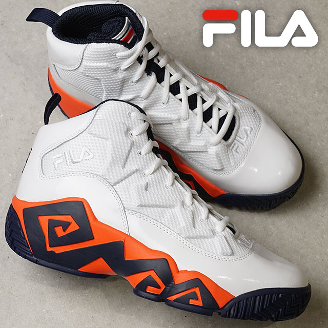 a6f8dfdf7a94 Fila heritage FILA mash barn MB men sneakers shoes white   cherry tomato  F  navy (F0284-0125 FW18)