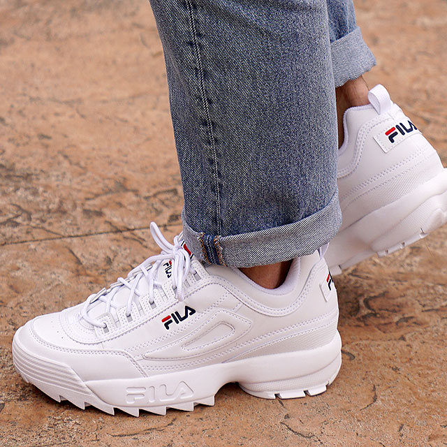 Fila heritage FILA ディスラプター 2 DISRUPTOR 2 men's lady's sneakers shoes  ダッドシューズ thickness bottom WWT (F0215-1072 FW18)
