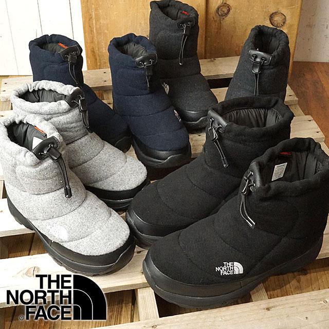【即納】ザ・ノースフェイス THE NORTHFACE ヌプシ ブーティーウール4 ショート Nuptse Bootie Wool IV Short ウィンターブーツ スノーブーツ 靴 (NF51879 FW18)【コンビニ受取対応商品】