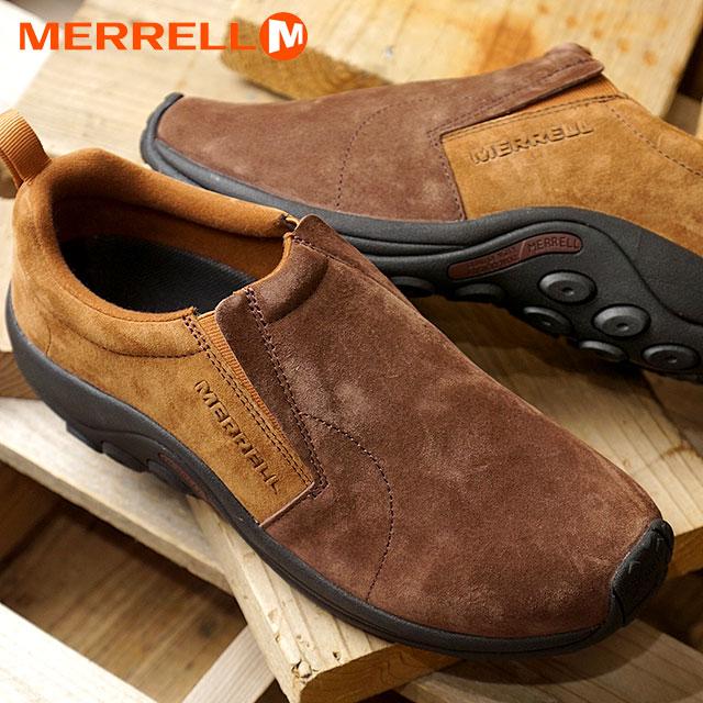 【20周年モデル】【即納】メレル MERRELL メンズ ジャングルモック M JUNGLE MOC コンフォートシューズ スニーカー 靴 MERRELL OAK (98831 FW18)【コンビニ受取対応商品】