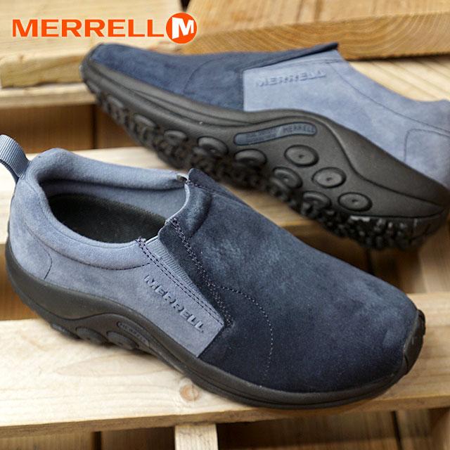【20周年モデル】【即納】メレル MERRELL レディース ジャングルモック W JUNGLE MOC コンフォートシューズ スニーカー 靴 NAVY/BLUE (513334 FW18)【コンビニ受取対応商品】