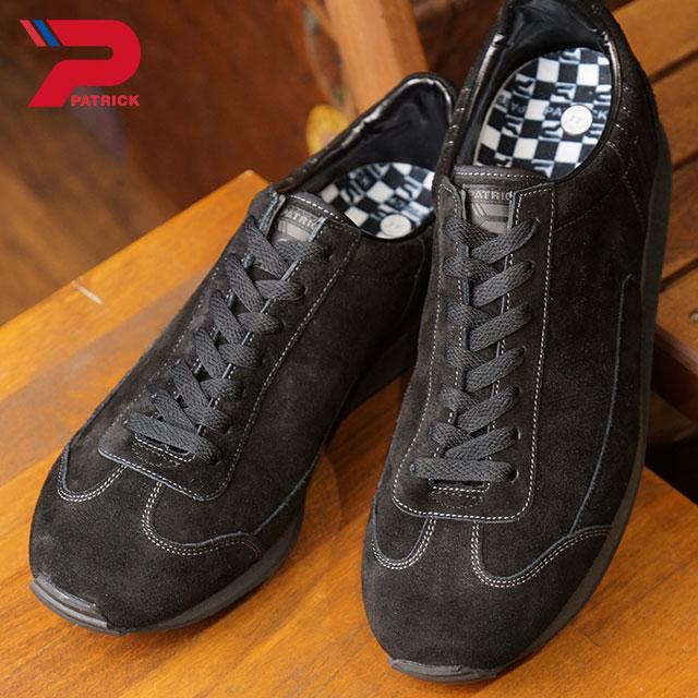 【即納】【返品送料無料】パトリック PATRICK ボストン2 BOSTON II メンズ レディース スニーカー 靴 ブラック NOIR (518561 FW18)【コンビニ受取対応商品】