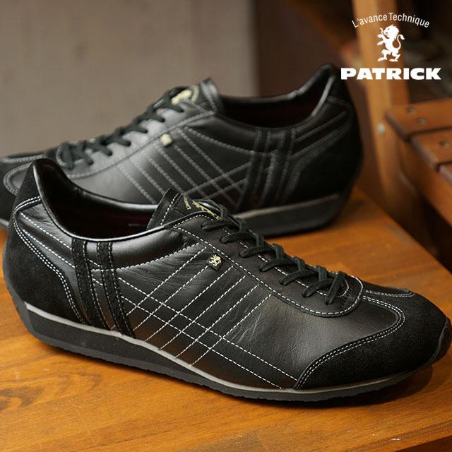 【即納】【返品送料無料】パトリック PATRICK アイリス IRIS メンズ レディース スニーカー 靴 ブラック NERO (23581 FW18)【コンビニ受取対応商品】