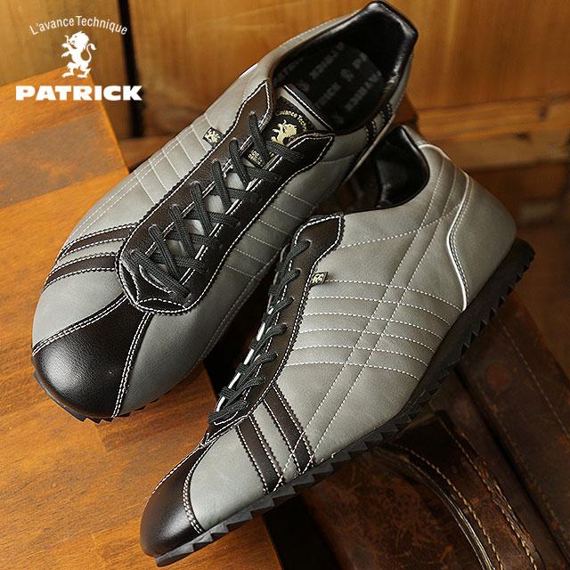 【即納】【返品送料無料】パトリック PATRICK シュリー SULLY メンズ レディース スニーカー 靴 グレー ROCK (26684 FW18)【コンビニ受取対応商品】