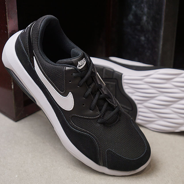 631a1c01271 NIKE Air Max nostalgic AIR MAX NOSTALGIC sneakers men shoes black   white  (916