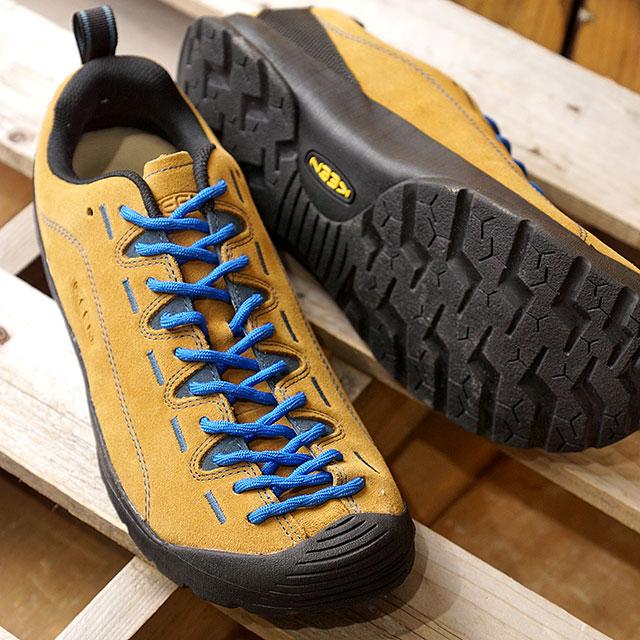 【即納】KEEN キーン ジャスパー トレッキングシューズ Jasper MNS Cathay Spice/Orion Blue 靴 (1002661)