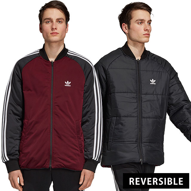 adidas Originals Adidas originals jacket men SST REVERSIBLE JACKET superstar reversible jacket (FJC87DH5006 FW18)