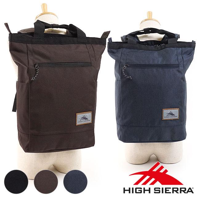 f6c09b052d SHOETIME  HIGH SIERRA ハイシェラ 2WAY bag classy tote bag pack CLASSY TOTE  BACKPACK rucksack day pack men Lady s (110623 FW18)