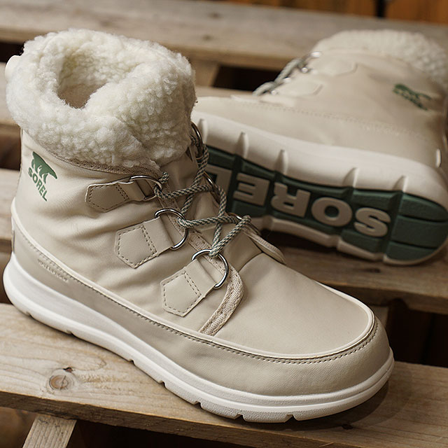 e1412169007 SOREL Sorrel Lady's Sorrel Explorer carnival W SOREL EXPLORER CARNIVAL  winter snow boot outdoor boots FAWN shoes (NL3040-920 FW18)