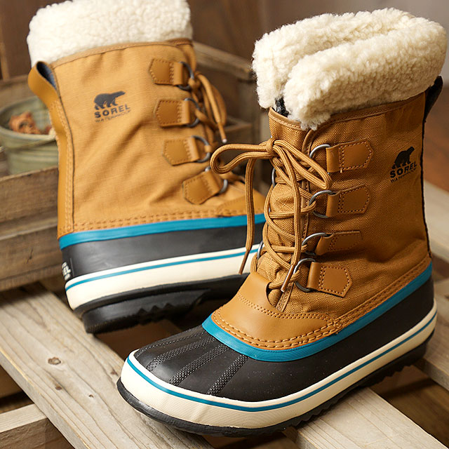 buy online f5d71 d0d68 SOREL Sorrel Lady's winter carnival W WINTER CARNIVAL winter snow boot  outdoor boots CAMEL BROWN shoes (NL1495-224 FW18)