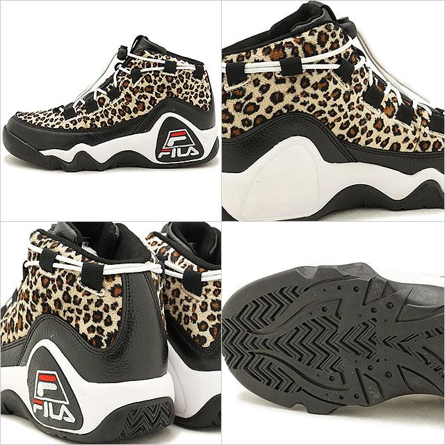 Fila heritage FILA 95 プリモレオパード 95 PRIMO LEOPARD men sneakers shoes black /  brown (F0224-0001 FW18)