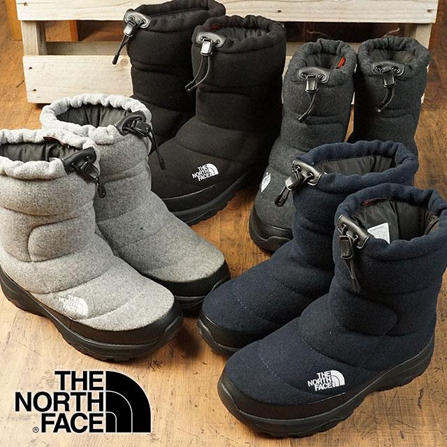 【即納】ザ・ノースフェイス THE NORTHFACE ヌプシ ブーティーウール4 Nuptse Bootie Wool IV ウィンターブーツ スノーブーツ 靴 (NF51878 FW18)【コンビニ受取対応商品】