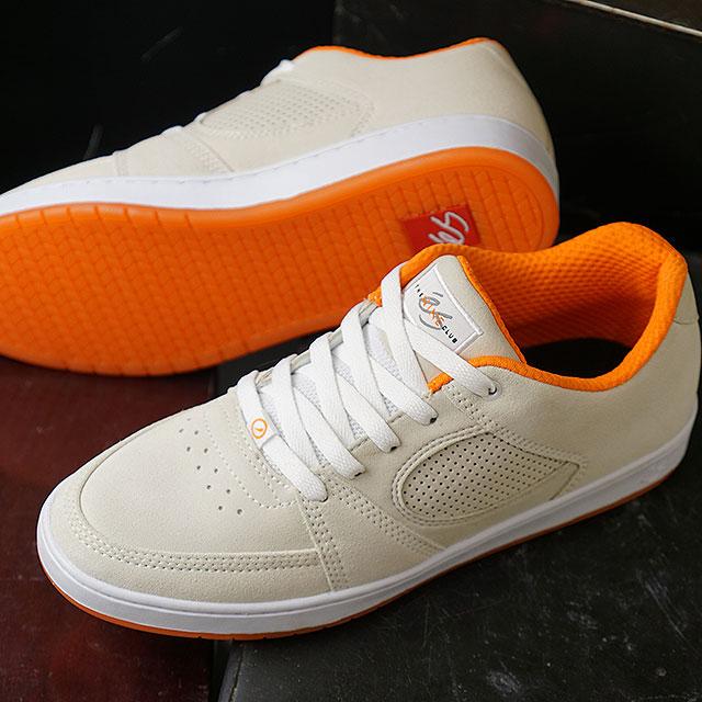 d6781c444c S eS accelerator slim ACCEL SLIM NINE CLUB スケシュースケートシューズメンズレディーススニーカー shoes  WHITE (HO18)