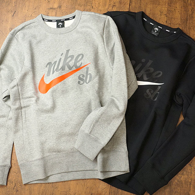 ecedede8a SHOETIME: NIKE SB men crew neck sweat shirt SB icon craft L/S top ...