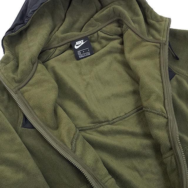4b8824b260bb SHOETIME  NIKE men fleece jacket core winter S フルジップフーディ ...