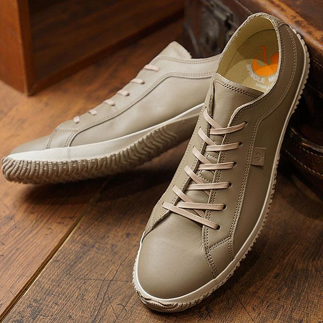 【即納】【返品送料無料】スピングルムーブ SPINGLE MOVE SPM-105 カーフレザー 牛革 ローカット スニーカー メンズ レディース 靴 シューズ Dark Gray (SPM105-06 FW18WINTER)【コンビニ受取対応商品】