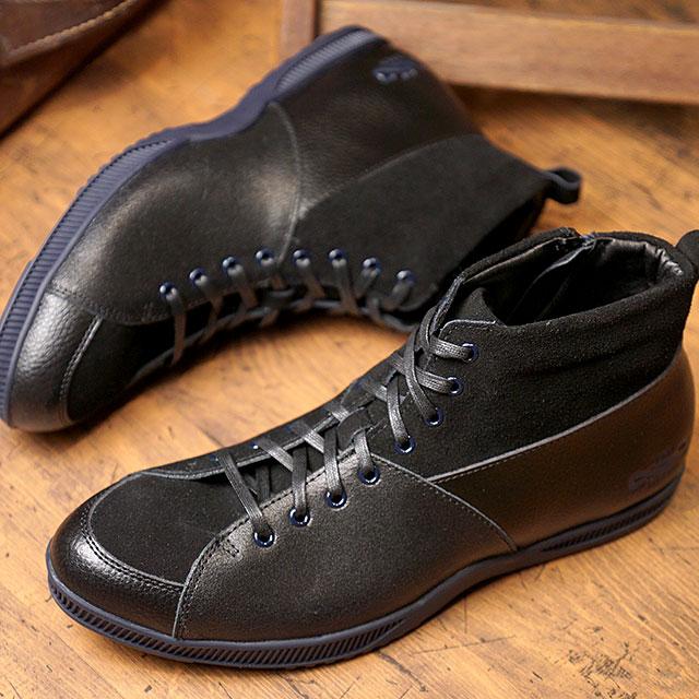 【即納】トップセブン TOP SEVEN TS-5520 アウトドデザイン ラグジュアリー スニーカー BLK/BLU メンズ 靴 (FW18)【コンビニ受取対応商品】