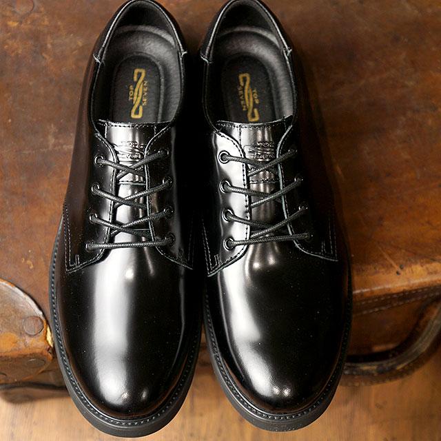 【即納】トップセブン TOP SEVEN TS-5516 Vibram ビブラムソール ガラスレザー ラグジュアリー スニーカー ALL BLACK メンズ 靴 (FW18)【コンビニ受取対応商品】