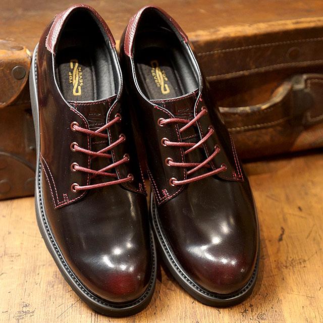 【即納】トップセブン TOP SEVEN TS-5516 Vibram ビブラムソール ガラスレザー ラグジュアリー スニーカー WINE メンズ 靴 (FW18)【コンビニ受取対応商品】