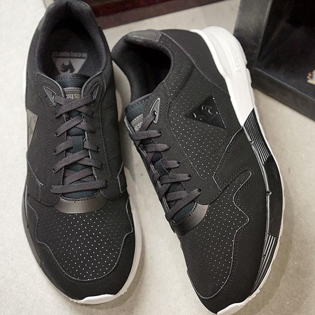 ルコック スポルティフ le coq sportif メンズ ヘリテージ オメガ リフレクティブ OMEGA X REFLECTIVE スニーカー 靴 BLACK ブラック系 (1722005 )【ts】【e】