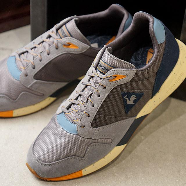 ルコック スポルティフ le coq sportif メンズ ヘリテージ オメガ トゥーシュス OMEGA X TOUT SHUSS スニーカー 靴 GRAY グレー系 (1722015 )【ts】【e】