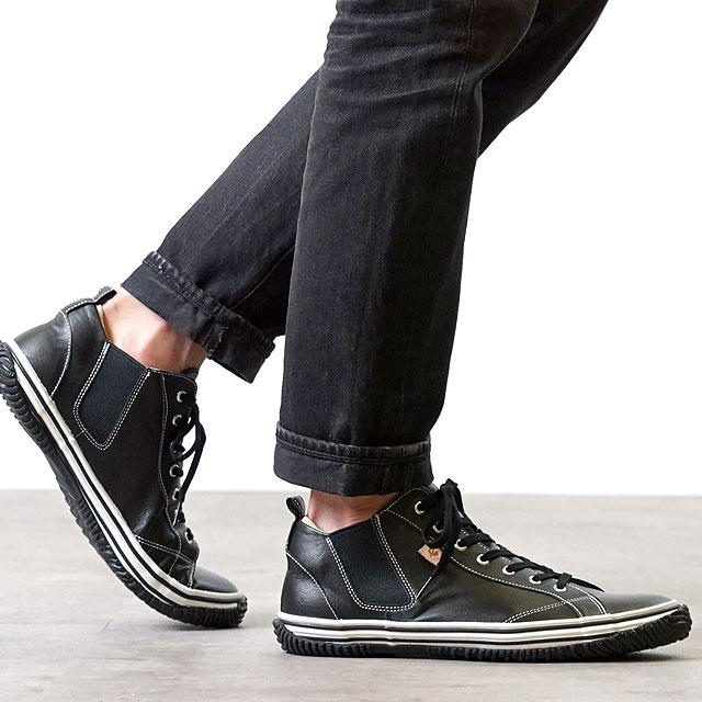 【月間優良ショップ】【返品送料無料】スピングルムーブ SPM442 SPINGLE MOVE SPM-442 Black靴 カンガルーレザー (SS14)