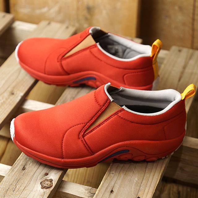 【月間優良ショップ】メレル MERRELL レディース ジャングルモック シールド W JUNGLE MOC SHIELD コンフォートシューズ スニーカー 靴 AMERICAN RED (598528 FW18)【e】【ts】