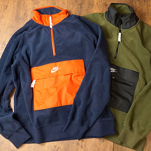 nike fleece mens