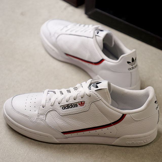 Adidas originals adidas Originals Continental 80 CONTINENTAL 80 sneakers  men Lady's shoes running white (G27706 SS19)