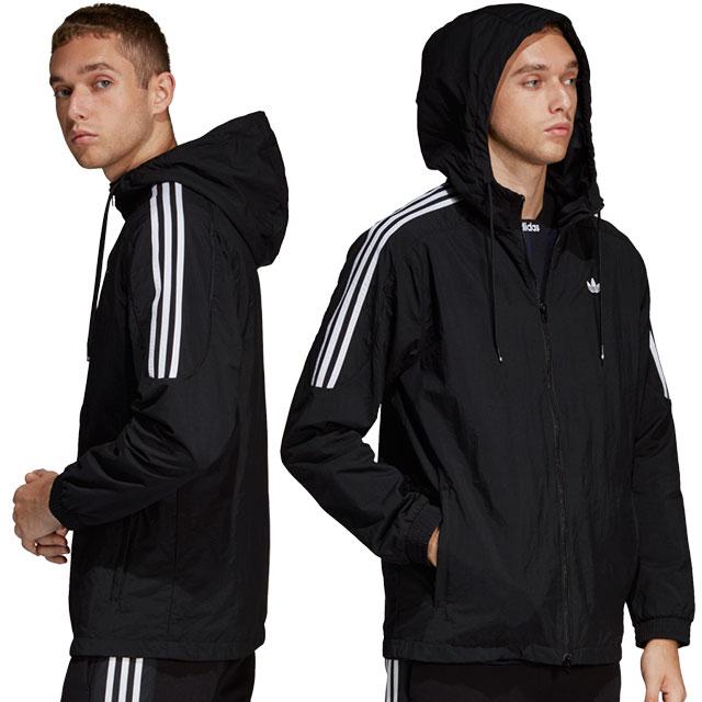 0284fa29 Adidas originals adidas Originals men windbreaker RADKIN WINDBREAKER nylon  jacket black (FUF03/DU8143 SS19)