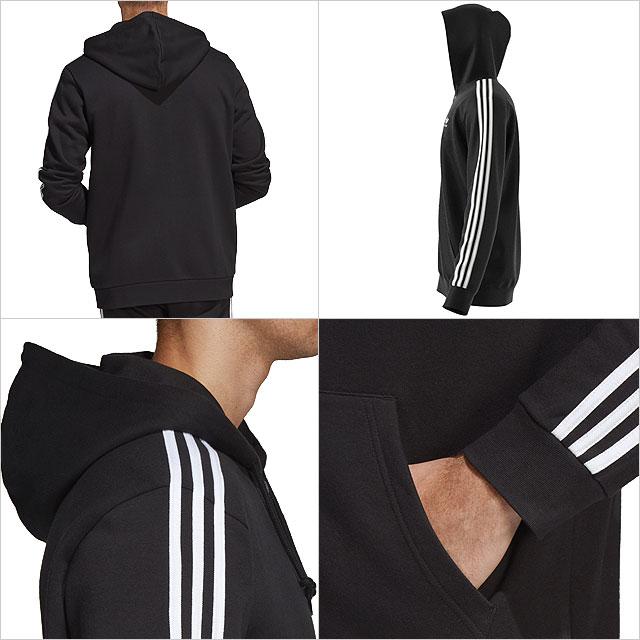 Adidas originals adidas Originals men parka 3 STRIPES FULL ZIP HOODIE ?????????????????? (FUD00DV1551 DV1556 SS19)