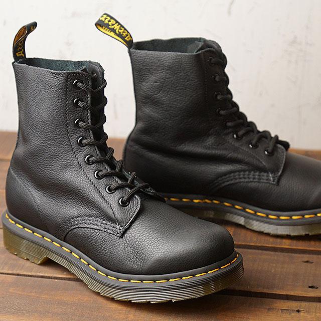 Doctor Martin Dr.Martens 8 hall boots Pascal 1460 PASCAL VIRGINIA men gap Dis shoes BLACK (13512006 SS19)