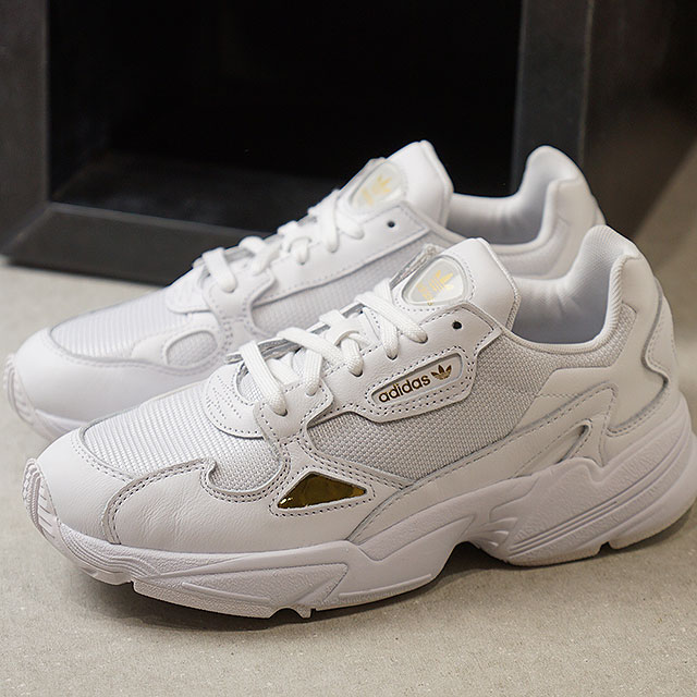 Adidas originals adidas Originals falcon women FALCON W Lady's sneakers shoes R white goal domet (EE8838 SS19)